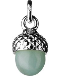 Links of London | Green Love Note Acorn Amazonite Charm | Lyst