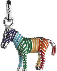 Links of London | Metallic Rainbow Zebra Sterling Silver Charm | Lyst