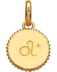Links of London | Leo 18ct Yellow-gold Vermeil Zodiac Charm | Lyst