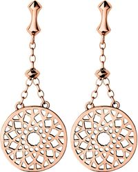 Links of London - Multicolor Timeless 18ct Rose-gold Vermeil Earrings - Lyst