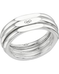Links of London - Metallic 20/20 Classic Sterling Silver Ring - Lyst