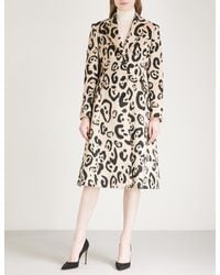 Altuzarra - Multicolor Driss Leopard-print Wool-blend Coat - Lyst