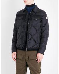 Moncler - Black Stephan Quilted Shell Jacket for Men - Lyst