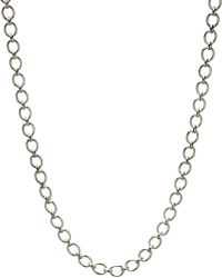 Links of London | Metallic Classic Sterling Silver Necklace | Lyst