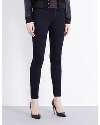 Hudson - Black Nico Super-skinny Mid-rise Jeans - Lyst