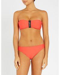 Calvin Klein - Orange Bittersweet Classic Bikini Bottoms - Womens Xs - Lyst