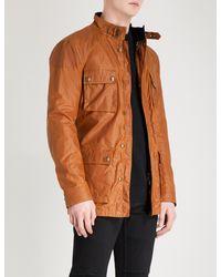 Belstaff - Multicolor Roadmaster Waxed-cotton Jacket for Men - Lyst