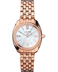 Links of London - Metallic 6010.1311 Bloomsbury Rose Gold-plated Watch - Lyst