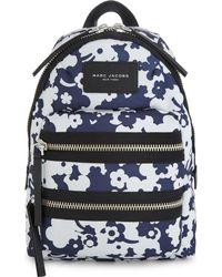 Marc Jacobs - Blue Blumon Biker Canvas Mini Backpack - Lyst