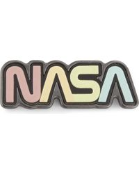 COACH - Multicolor Nasa Logo Leather And Metal Badge - Lyst