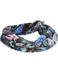 Camilla   Blue Wire Wrap Headband   Lyst