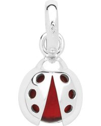 Links of London - Metallic Lucky Ladybird Sterling Silver Charm - Lyst
