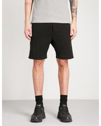 The Kooples - Black Panel-striped Shorts for Men - Lyst