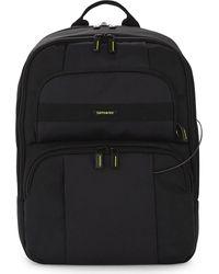 Samsonite | Black Openroad Infinipak Nylon Backpack for Men | Lyst