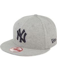 KTZ | Gray 9fifty New York Yankees Jersey Snapback Cap for Men | Lyst