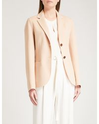 f311d0710c3 Joseph Archi Wool And Cashmere-blend Jacket in Natural - Lyst