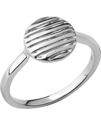 Links of London | Metallic Thames Sterling Silver Ring | Lyst