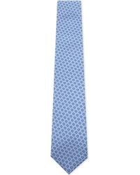 Corneliani - Blue Circle Silk Tie for Men - Lyst