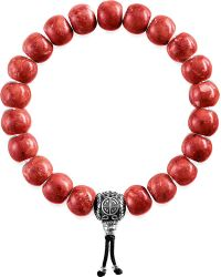 Thomas Sabo - Red Rebel At Heart Beaded Bracelet - Lyst
