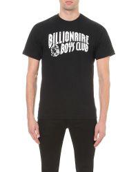 Billionaire Boys Club - Ice Cream - Black Logo Printed T-shirt for Men - Lyst