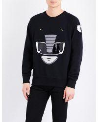 Bobby Abley | Black Ranger Cotton-jersey Sweatshirt for Men | Lyst