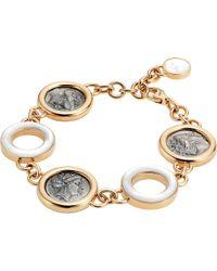 BVLGARI - Metallic Monete 18kt Pink-gold Bracelet - Lyst