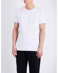 Blood Brother | White Ferris Cotton-jersey T-shirt for Men | Lyst