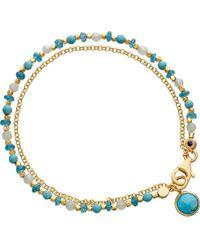 Astley Clarke | Blue Be Very Cool Friendship Bracelet | Lyst