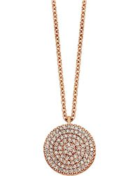 Astley Clarke | Pink Icon 18ct Gold Vermeil Pendant Necklace | Lyst