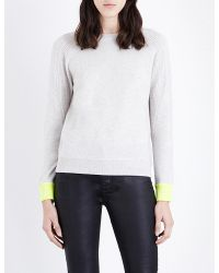Duffy | Multicolor Contrast-knit Cashmere Jumper | Lyst