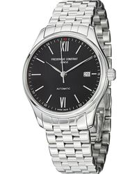 Frederique Constant - Metallic Fc303bn5b6b Classics Index Stainless Steel Watch for Men - Lyst