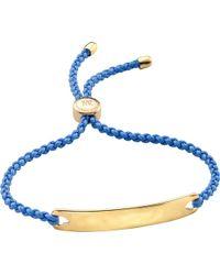 Monica Vinader - Metallic Havana 18ct Gold-plated Friendship Bracelet for Men - Lyst