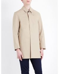 Mackintosh - Natural Classic Cotton Mac for Men - Lyst