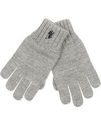 Pink Pony - Gray Wool Gloves - Lyst