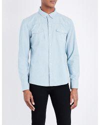 PAIGE | Blue Hunter Regular-fit Denim Shirt for Men | Lyst