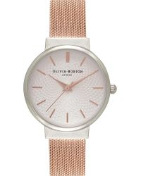 Olivia Burton | Metallic Ob15th18 Hackney Silver And Rose Gold-plated Watch | Lyst
