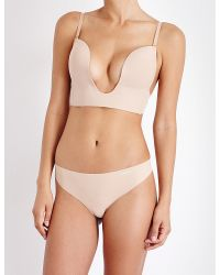 Fashion Forms | Natural Seamless U Plunge Bra | Lyst