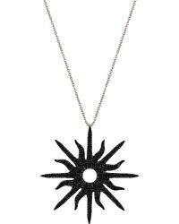Christina Debs | Natural Sunshine 18ct White-gold And Diamond Pendant | Lyst