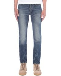 Paul Smith | Blue Regular-fit Tapered Jeans for Men | Lyst