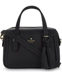 Kate Spade - Black Orchard Street Elowen Small Leather Shoulder Bag - Lyst