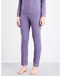 Calvin Klein   Purple Naked Touch Jersey Pyjama Bottoms   Lyst
