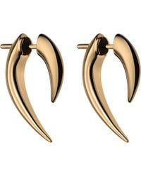 Shaun Leane | Metallic Silver And Rose Gold Platetalon Earrings | Lyst