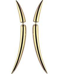 Shaun Leane - Multicolor Quill Gold Plate Earrings Size 1 - Lyst