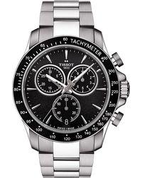 Tissot | Multicolor T106.417.11.051.00 V8 Stainless Steel Chronograph Watch for Men | Lyst