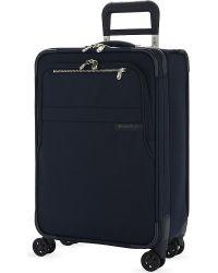 Briggs & Riley | Blue Baseline Expandable Cabin Suitcase 56.5cm | Lyst
