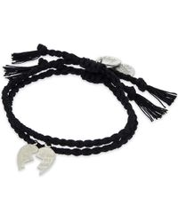 Venessa Arizaga | Black Made For Each Other Bracelet Set Of Two | Lyst