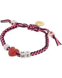 Venessa Arizaga | Red I Love Me Bracelet | Lyst