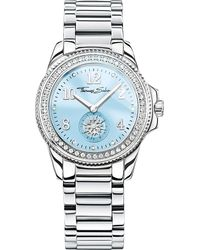 Thomas Sabo | Blue Glam & Soul Divine Stainless Steel Watch | Lyst