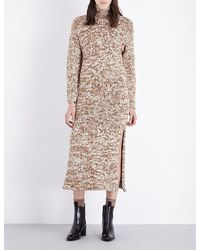Pringle of Scotland | Natural Waffle-knit Cashmere Jumper Dress | Lyst