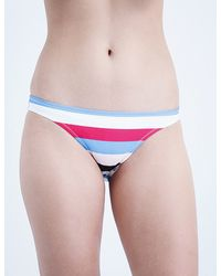 Solid & Striped | Purple Chloe Bikini Bottoms | Lyst